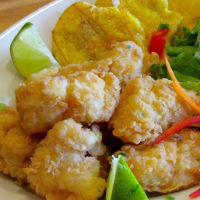 Grouper Fish Nuggets