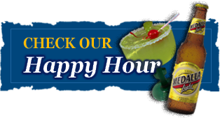 Check Our Happy Hour - Metropol Restaurant | Criolla and International Cuisine