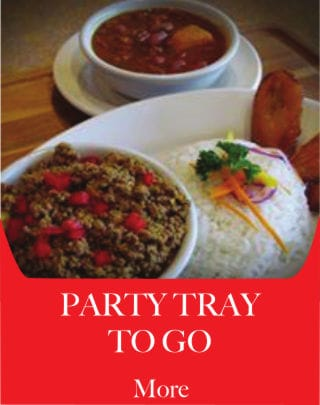 Party Tray to Go - Metropol Restaurant - Puerto Rican, Cuban, and International Food.